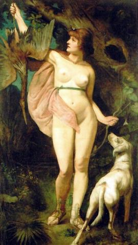 diana-goddess-of-the-hunt-and-the-moon-by-hans-makart